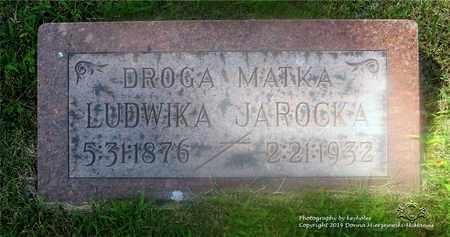 JAROCKA, LUDWIKA - Lucas County, Ohio | LUDWIKA JAROCKA - Ohio Gravestone Photos