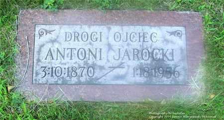 JAROCKI, ANTONI - Lucas County, Ohio | ANTONI JAROCKI - Ohio Gravestone Photos