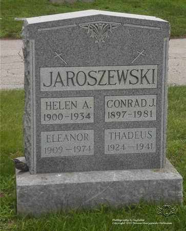 ERDMAN JAROSZEWSKI, ELEANOR - Lucas County, Ohio | ELEANOR ERDMAN JAROSZEWSKI - Ohio Gravestone Photos