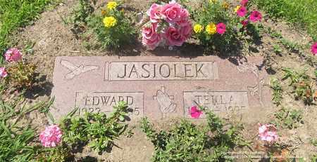 JASIOLEK, EDWARD - Lucas County, Ohio | EDWARD JASIOLEK - Ohio Gravestone Photos