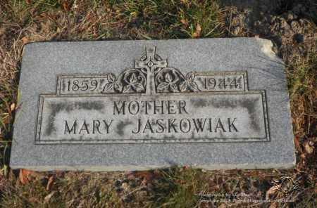 MAJCHSZAK JASKOWIAK, MARY - Lucas County, Ohio | MARY MAJCHSZAK JASKOWIAK - Ohio Gravestone Photos