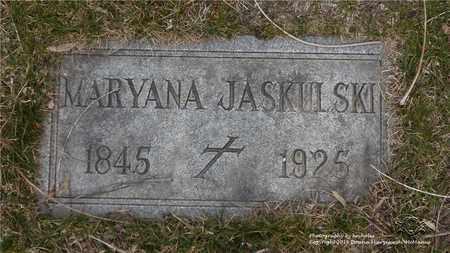 NEWIDA JASKULSKI, MARYANA - Lucas County, Ohio | MARYANA NEWIDA JASKULSKI - Ohio Gravestone Photos