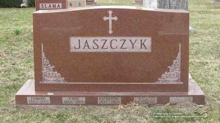 JASZCZYK, KATHERINE - Lucas County, Ohio | KATHERINE JASZCZYK - Ohio Gravestone Photos