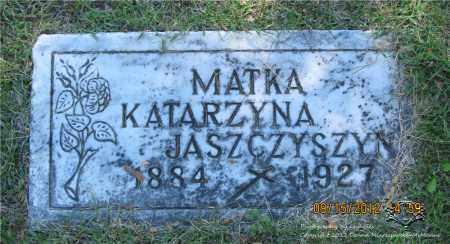 BRYK JASZCZYSZYN, KATARZYNA - Lucas County, Ohio | KATARZYNA BRYK JASZCZYSZYN - Ohio Gravestone Photos