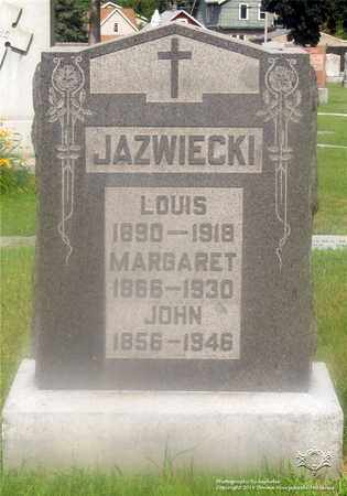 JAZWIECKI, LOUIS - Lucas County, Ohio | LOUIS JAZWIECKI - Ohio Gravestone Photos