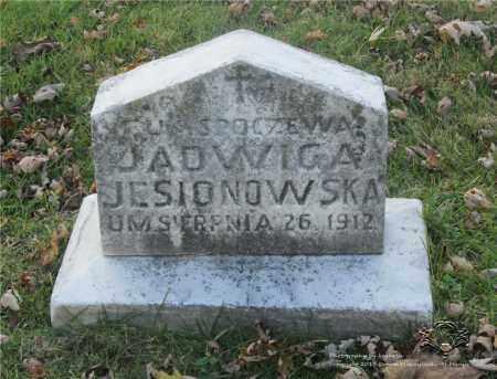 JESIONOWSKA, JADWIGA - Lucas County, Ohio | JADWIGA JESIONOWSKA - Ohio Gravestone Photos