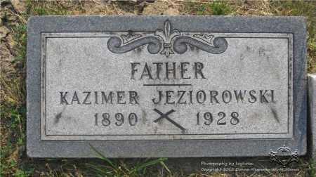 JEZIOROWSKI, KAZIMER - Lucas County, Ohio | KAZIMER JEZIOROWSKI - Ohio Gravestone Photos