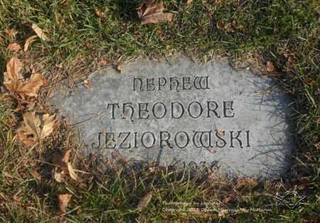 JEZIOROWSKI, THEODORE - Lucas County, Ohio | THEODORE JEZIOROWSKI - Ohio Gravestone Photos