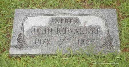 KOWALSKI, JOHN - Lucas County, Ohio | JOHN KOWALSKI - Ohio Gravestone Photos