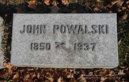 POWALSKI, JOHN - Lucas County, Ohio | JOHN POWALSKI - Ohio Gravestone Photos