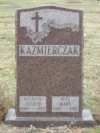 KAZMIERCZAK, MARY - Lucas County, Ohio | MARY KAZMIERCZAK - Ohio Gravestone Photos