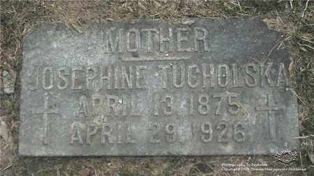 RADTKE TUCHOLSKA, JOSEPHINE - Lucas County, Ohio | JOSEPHINE RADTKE TUCHOLSKA - Ohio Gravestone Photos