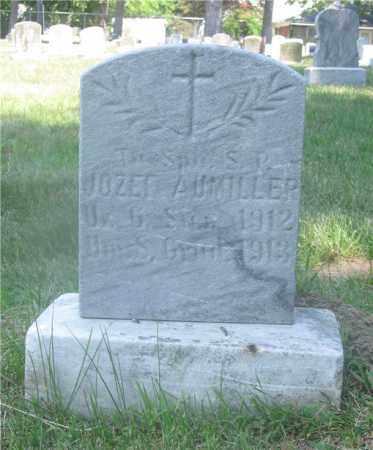 AUMILLER, JOZEF - Lucas County, Ohio | JOZEF AUMILLER - Ohio Gravestone Photos