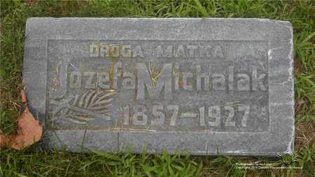 WASZAK MICHALAK, JOZEFA - Lucas County, Ohio | JOZEFA WASZAK MICHALAK - Ohio Gravestone Photos