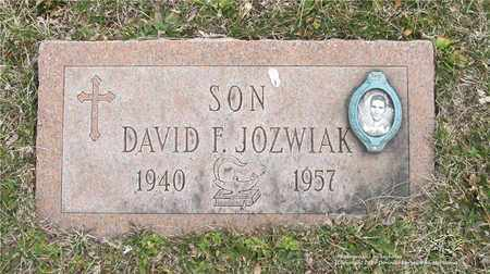 JOZWIAK, DAVID F. - Lucas County, Ohio | DAVID F. JOZWIAK - Ohio Gravestone Photos