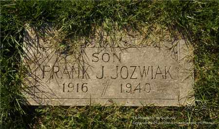 JOZWIAK, FRANK J. - Lucas County, Ohio | FRANK J. JOZWIAK - Ohio Gravestone Photos