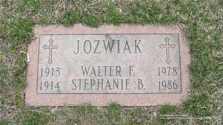 JOZWIAK, STEPHANIE B. - Lucas County, Ohio | STEPHANIE B. JOZWIAK - Ohio Gravestone Photos