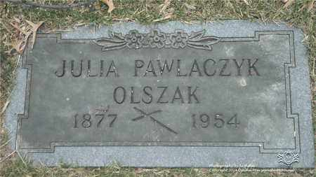 POSNER OLSZAK, JULIA - Lucas County, Ohio | JULIA POSNER OLSZAK - Ohio Gravestone Photos