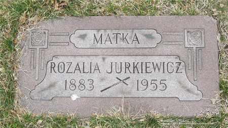 JURKIEWICZ, ROZALIA - Lucas County, Ohio | ROZALIA JURKIEWICZ - Ohio Gravestone Photos
