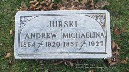 JURSKI, ANDREW - Lucas County, Ohio | ANDREW JURSKI - Ohio Gravestone Photos