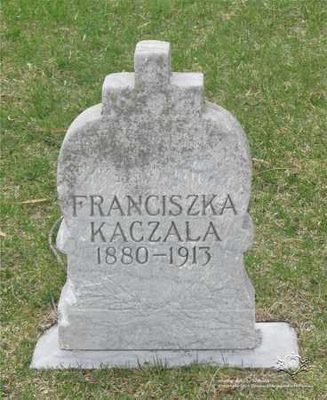 KACZALA, FRANCISZKA - Lucas County, Ohio | FRANCISZKA KACZALA - Ohio Gravestone Photos