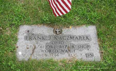 KACZMAREK, FRANK J. - Lucas County, Ohio | FRANK J. KACZMAREK - Ohio Gravestone Photos
