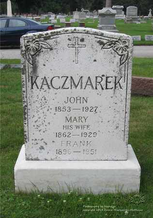 KACZMAREK, MARY - Lucas County, Ohio | MARY KACZMAREK - Ohio Gravestone Photos