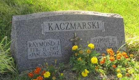 KACZMARSKI, RAYMOND J. - Lucas County, Ohio | RAYMOND J. KACZMARSKI - Ohio Gravestone Photos