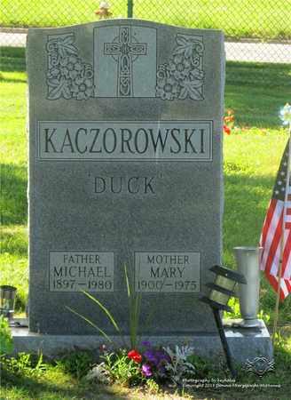 KACZOROWSKI, MICHAEL - Lucas County, Ohio | MICHAEL KACZOROWSKI - Ohio Gravestone Photos