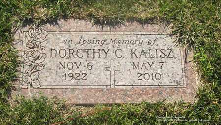 KALISZ, DOROTHY C. - Lucas County, Ohio | DOROTHY C. KALISZ - Ohio Gravestone Photos