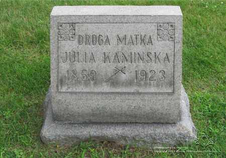KAMINSKA, JULIA - Lucas County, Ohio | JULIA KAMINSKA - Ohio Gravestone Photos