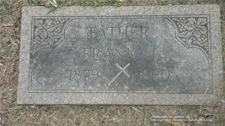 KAMINSKI, FRANK J. - Lucas County, Ohio | FRANK J. KAMINSKI - Ohio Gravestone Photos