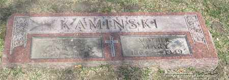 KLAWITTER KAMINSKI, MARY - Lucas County, Ohio | MARY KLAWITTER KAMINSKI - Ohio Gravestone Photos