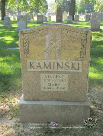 KAMINSKI, MARY - Lucas County, Ohio | MARY KAMINSKI - Ohio Gravestone Photos