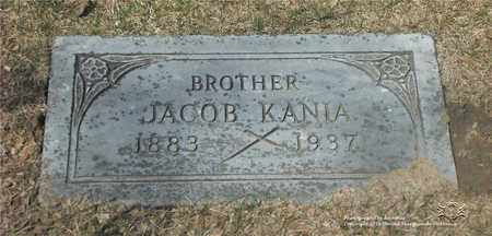 KANIA, JACOB - Lucas County, Ohio | JACOB KANIA - Ohio Gravestone Photos