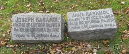 KARAMOL, ANNA - Lucas County, Ohio | ANNA KARAMOL - Ohio Gravestone Photos