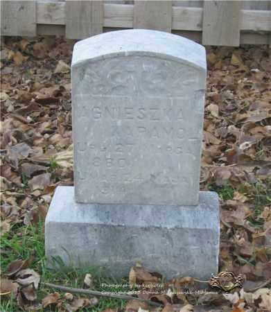 KARAMOL, AGNIESZKA - Lucas County, Ohio | AGNIESZKA KARAMOL - Ohio Gravestone Photos