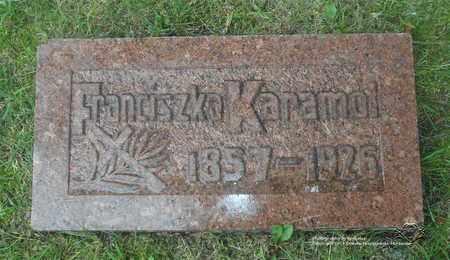KARAMOL, FRANCISZKA - Lucas County, Ohio | FRANCISZKA KARAMOL - Ohio Gravestone Photos