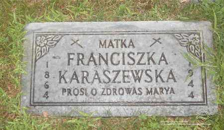 RYBCZYNSKI KARASZEWSKA, FRANCISZKA - Lucas County, Ohio | FRANCISZKA RYBCZYNSKI KARASZEWSKA - Ohio Gravestone Photos