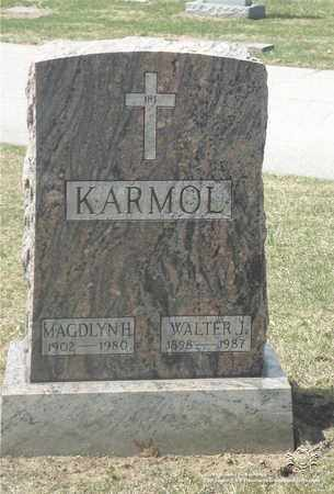 KARMOL, MAGDLYN H. - Lucas County, Ohio | MAGDLYN H. KARMOL - Ohio Gravestone Photos