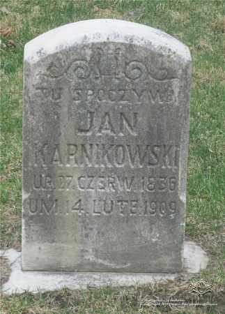 KARNIKOWSKI, JAN - Lucas County, Ohio | JAN KARNIKOWSKI - Ohio Gravestone Photos