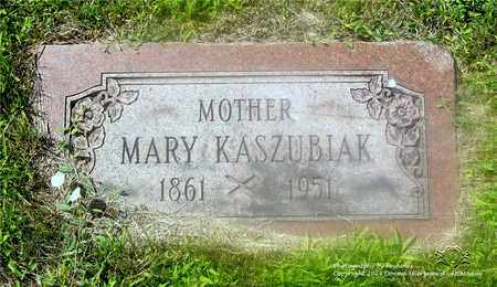 KASZUBIAK, MARY - Lucas County, Ohio | MARY KASZUBIAK - Ohio Gravestone Photos