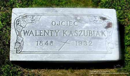 KASZUBIAK, WALENTY - Lucas County, Ohio | WALENTY KASZUBIAK - Ohio Gravestone Photos