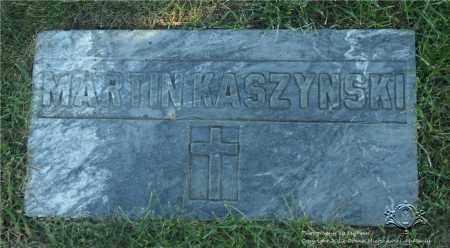 KASZYNSKI, MARTIN - Lucas County, Ohio   MARTIN KASZYNSKI - Ohio Gravestone Photos