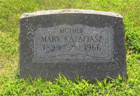 KATAFIASZ, MARY - Lucas County, Ohio | MARY KATAFIASZ - Ohio Gravestone Photos