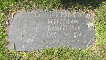 KAWCZYNSKI, MIECZYSLAW - Lucas County, Ohio | MIECZYSLAW KAWCZYNSKI - Ohio Gravestone Photos