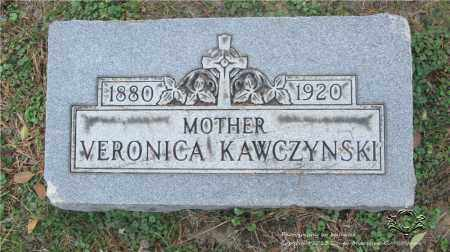 KAWCZYNSKI, VERONICA - Lucas County, Ohio | VERONICA KAWCZYNSKI - Ohio Gravestone Photos
