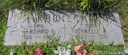 KAWIECKI, BERNARD E. - Lucas County, Ohio | BERNARD E. KAWIECKI - Ohio Gravestone Photos