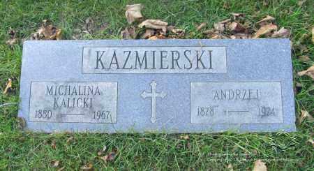 KAZMIERSKI, ANDRZEJ - Lucas County, Ohio | ANDRZEJ KAZMIERSKI - Ohio Gravestone Photos