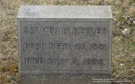 KEELER, SALMON H. - Lucas County, Ohio | SALMON H. KEELER - Ohio Gravestone Photos